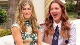 Jennifer Aniston on Manifesting Friends and Joke Feud with Drew Over Adam Sandler