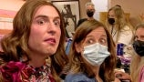 Benito Skinner Dresses as Drew Barrymore and Terrorizes Her Show Staff