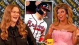 Shangela Celebrates Joc Pederson Rocking Pearls on the Baseball Field | Drew's News
